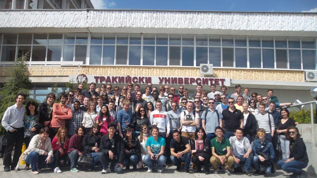 Студенти по икономика от Европа в помощ на бизнеса
