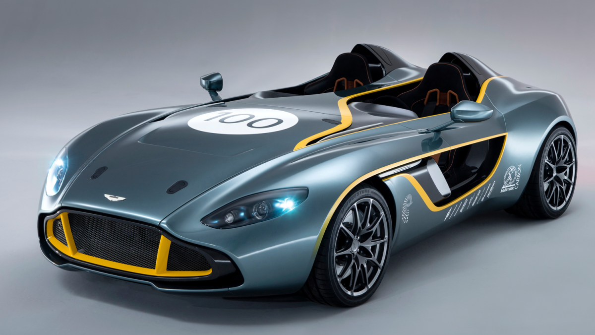 Aston Martin празнува 100 г. с впечатляващ концепт