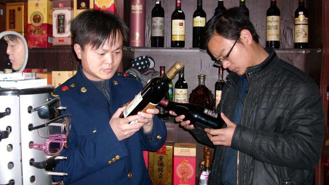 Фалшиви топ вина заливат и Китай