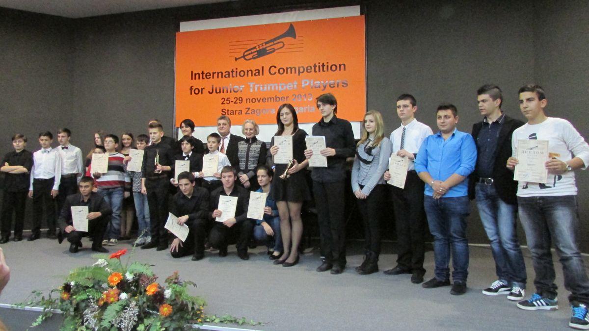 48 младежи от 10 държави участват в конкурсa за тромпетисти в Стара Загора
