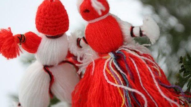 Честита Баба Марта! Бели и червени, здрави и засмени!
