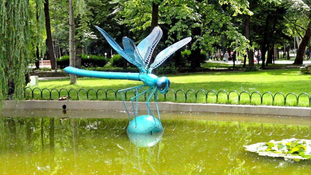 Нови скулптури допълват уникалната атмосфера на ямболския парк