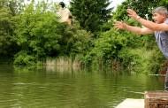 Езерото на Старозагорските бани има нови обитатели