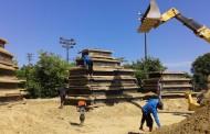 Ваят пясъчните фигури в Бургас с над 5 хил. тона пясък