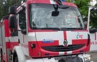 Каравана и три леки автомобила горяха в Стара Загора
