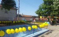 """Басейн радва децата от ДГ """"Лилия"""" в старозагорското село Хрищени"""