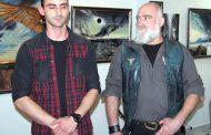Съвместната изложба на баща и син – Светлин и Данко Стоеви