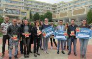 ПП АТАКА дари стипендии на трима студенти в Стара Загора