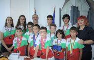 Областният управител Гергана Микова се срещна днес с младите старозагорски математици