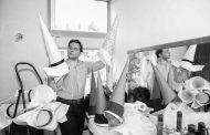 "Костюмите на Денис Иванов за спектакъла на операта ""Трубадур"" на стадион ""Берое"""