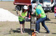 Направиха първа копка за изграждане на пречиствателна станция в Чирпан