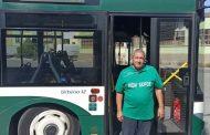 """Шофьорите от градския транспорт облякоха фланелки на """"Берое"""""""