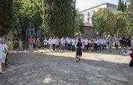 Най-новото старозагорско училище откри учебната година в Хилендарския метох