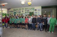 """Специален кът на """"Берое"""" откриха в XI основно училище в Стара Загора"""