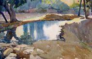 Изложба с акварелни пейзажи на Чудомир представят в Стара Загора