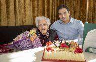 Кметът Живко Тодоров поздрави 103-годишна старозагорка