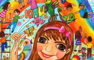 "Рисунки на участници в ""Моят празник"" редят в зала ""Байер"""