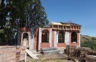 Продължава строежът на православния храм в старозагорското село Малка Верея