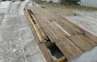 Вандали счупиха част от пода на сцената на Античния форум в Стара Загора