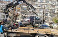 В Стара Загора премахнаха още автомобили, излезли от употреба