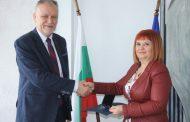 Гергана Микова получи Златен почетен знак на Агенцията по метрология