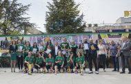 """Старозагорци поздравиха баскетболистките на """"Берое"""" за шампионската титла"""