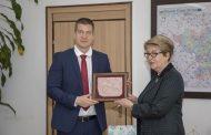 Кметът Живко Тодоров се срещна с посланика на Русия Нейно Превъзходителство г-жа Елеонора Митрофанова