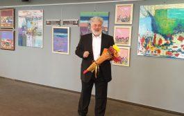 """Щастлив художник откри юбилейна изложба """"Светлозар Недев на 60"""""""