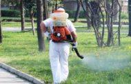 В Казанлък пръскат тревните площи срещу кърлежи и комари