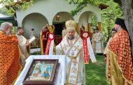 "На Светли Понеделник митрополит Киприан служи в манастир ""Св. Атанасий Велики"""