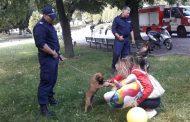 Служители от ОД МВР Стара Загора се включиха в детски празник за 1 юни