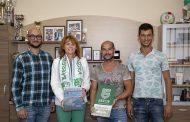 Фен на Берое от Португалия посети Стара Загора