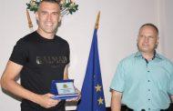 Мартин Камбуров получи Почетния знак на Областния управител