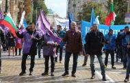 """Над 6 хил. работници протестираха в защита на комплекса """"Марица изток"""""""