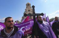 Енергетици протестират в София